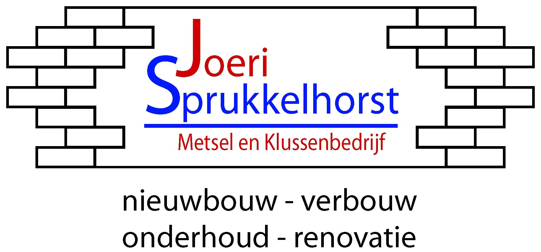 Joeri Sprukkelhorst | Metsel- en klussenbedrijf